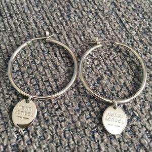 Henri Bendel hoop earrings